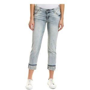Kut from the Kloth Women's Capri Pearl Jeans